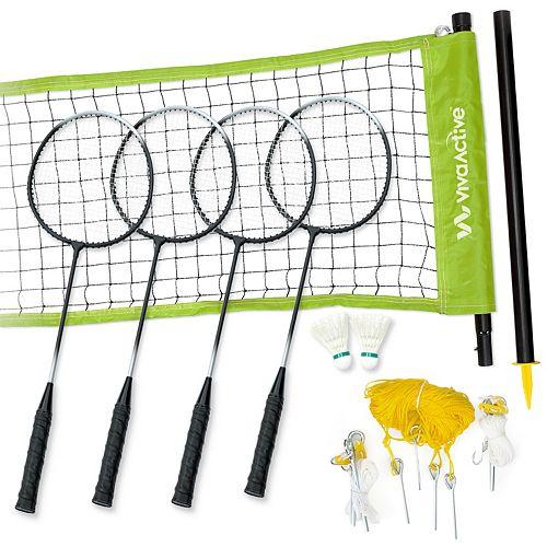 4 Player Recreational Badminton Set