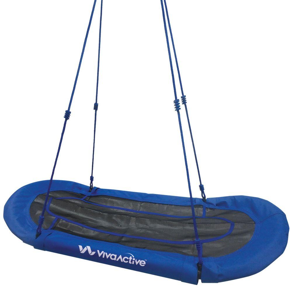 Double Platform Yard Swing - Blue