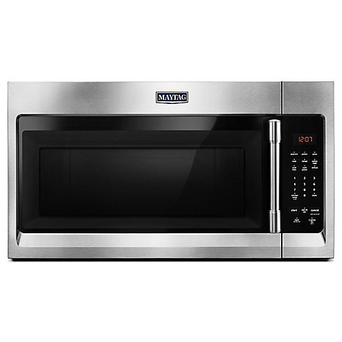 1.7 cu. ft. Over the Range Microwave in Fingerprint Resistant Stainless Steel
