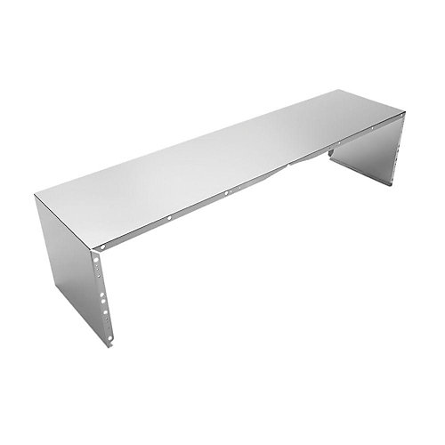 48-inch Stainless Steel Duct Cover for Wall Mounted Range Hood
