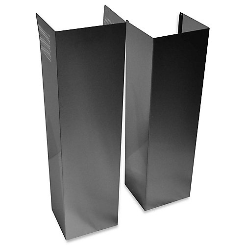 Wall Hood Chimney Extension Kit in Stainless Steel