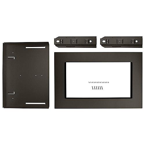 30-inch Microwave Trim Kit in Black Stainless Steel