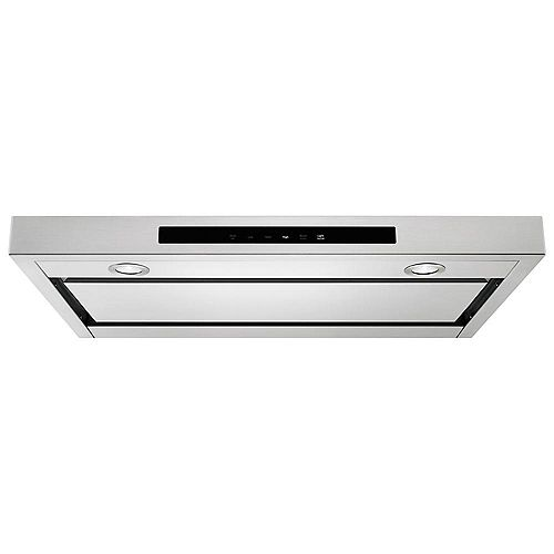 30-inch Low Profile Under Cabinet Range Hood in Stainless Steel