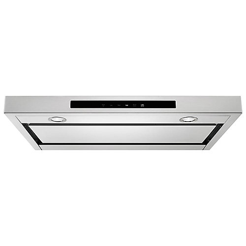 36-inch Low Profile Under Cabinet Range Hood in Stainless Steel
