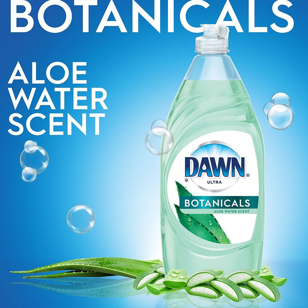Dawn Détergent à vaisselle liquide Dawn Ultra Escapes, parfum Sources de la Nouvelle-Zélande, 532 ml