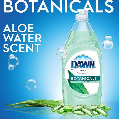 Dawn Ultra Dishwashing Liquid Dish Soap, Aloe Water Scent, 532 mL