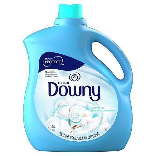 Downy Downy Ultra Liquid Fabric Conditioner (Fabric Softener), April Fresh, 150 Loads 129 fl oz