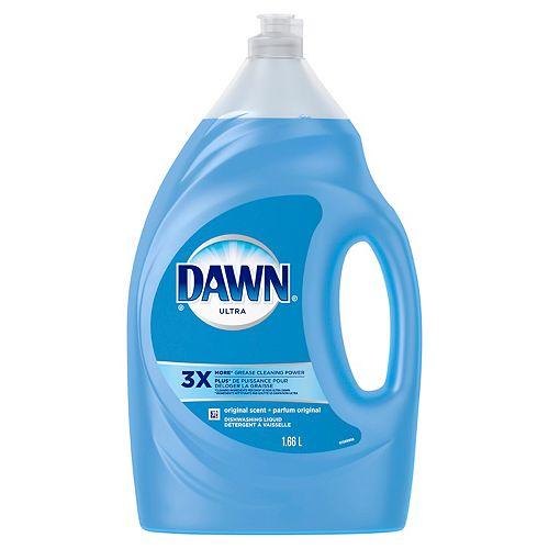 Dawn Dishwashing Liquid Liquid Dish Soap, Original, 1.66 L