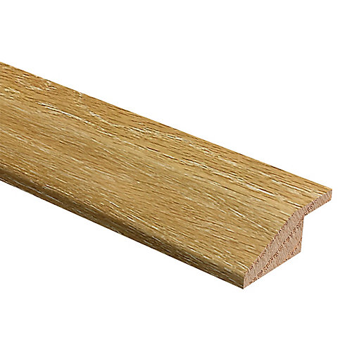 Brushed Washed Oak 3/8-inch Thick x 1 3/4-inch Wide x 94-inch Length Hardwood Reducer Molding