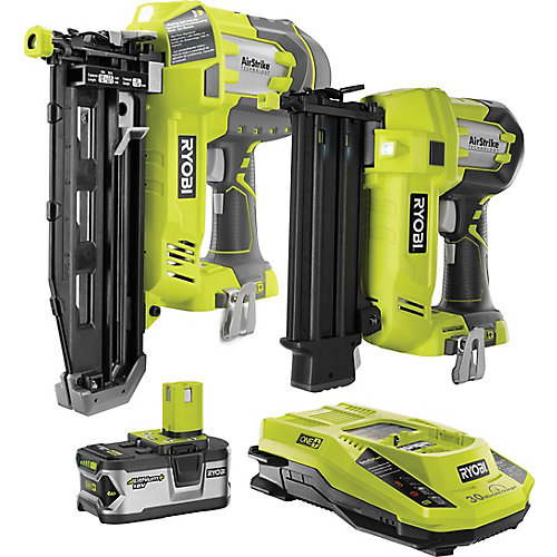 18V ONE+ Brad & Finish Nailer Kit
