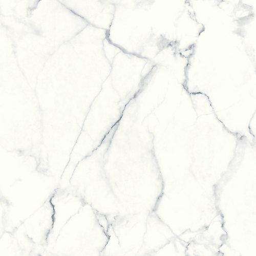 Carrara Marble Peel & Stick Wallpaper