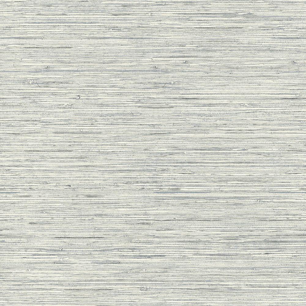 Roommates Grasscloth Grey Peel Stick Wallpaper The Home Depot Canada