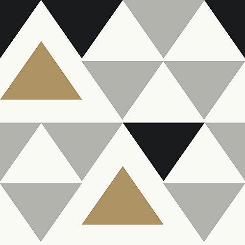 Geometric Triangle Peel & Stick Wallpaper