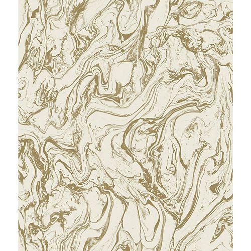RoomMates Gold Marble Peel & Stick Wallpaper