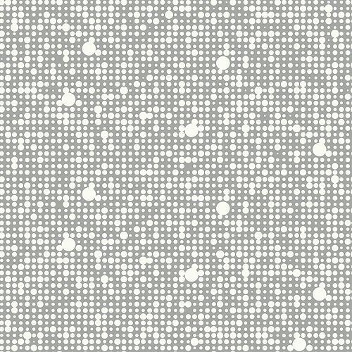 RoomMates Grey Polka Dot Peel & Stick Wallpaper