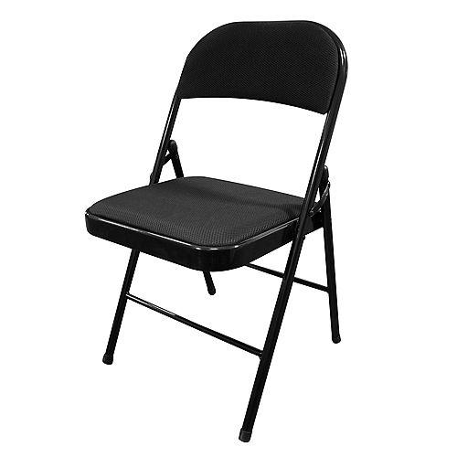 Chaise pliante à coussin