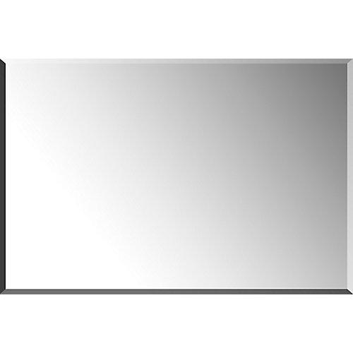 24 x 36 biseauté miroir cosmétique mural prêt à raccrocher