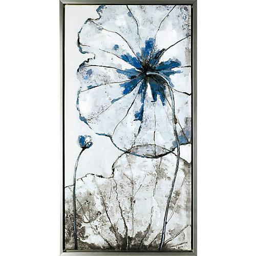 Les fleurs, XXVI, Art Floral, acrylique sur toile Art