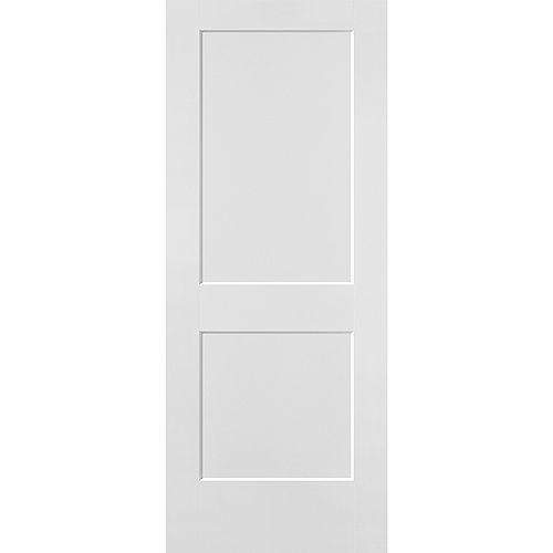 Masonite 32-inch x 80-inch x 1 3/8-inch Hollow Core Logan Interior Door Slab