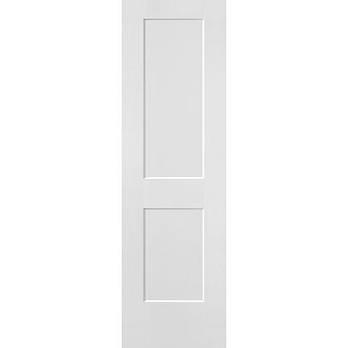 24-inch x 80-inch x 1 3/8-inch Hollow Core Logan Interior Door Slab