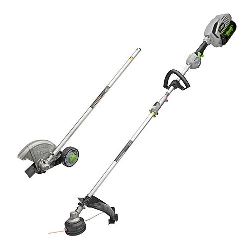 POWER+ 15-inch 56V Li-Ion Cordless String Trimmer+Edger Combo Kit with 5.0Ah Battery and Charger
