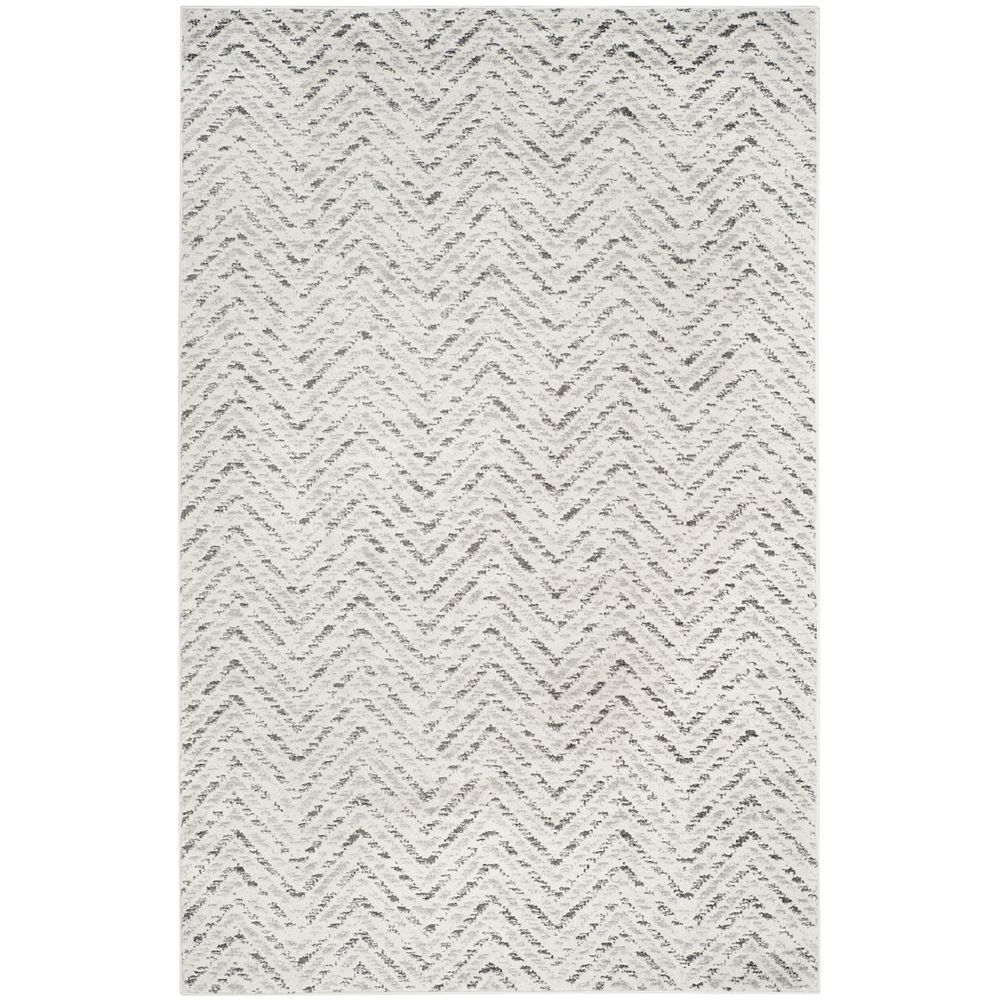 Safavieh Adirondack Kevin Ivory / Charcoal 6 ft. x 9 ft. Indoor Area Rug