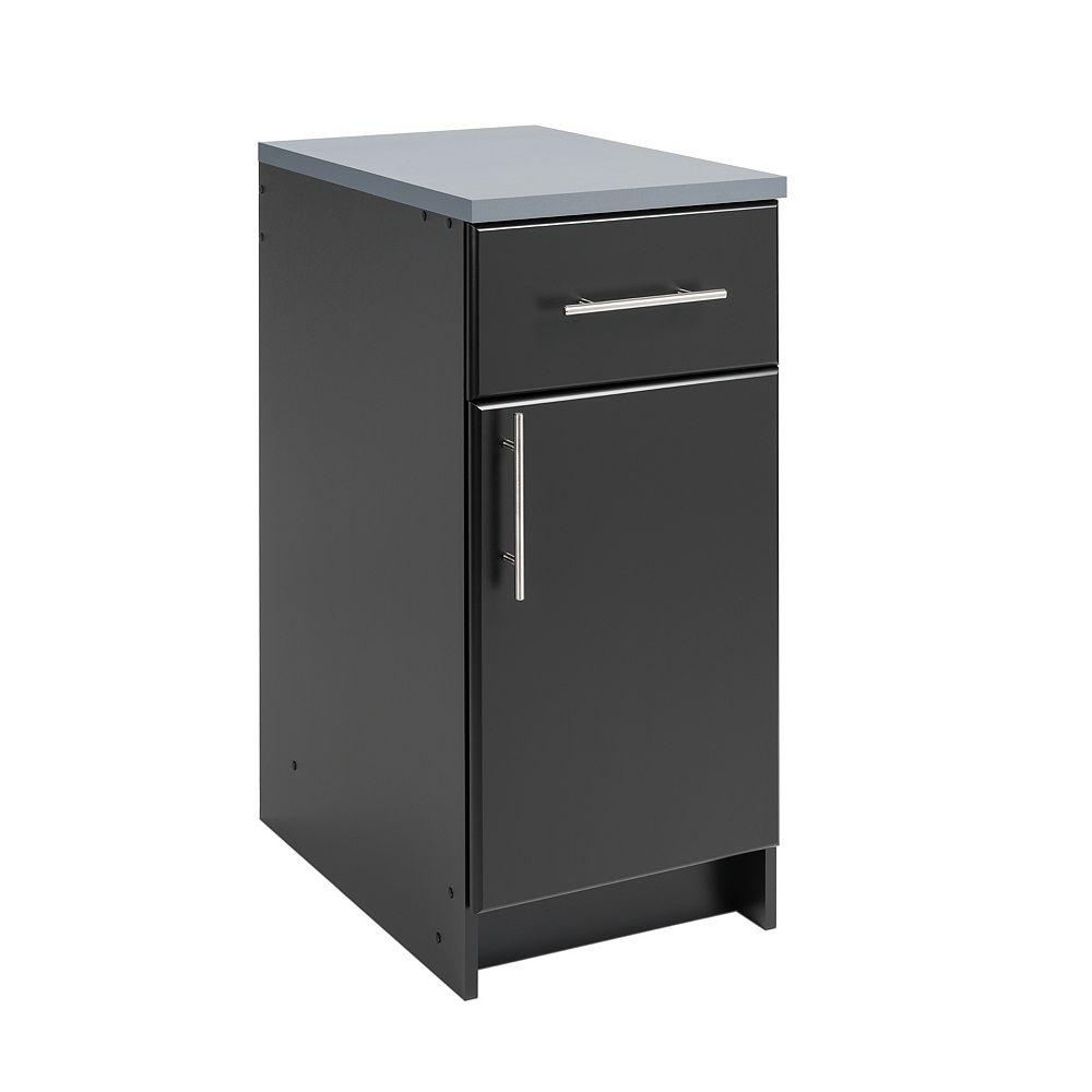 Prepac Elite 16-inch Base Cabinet in Black