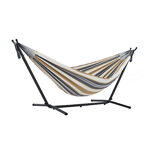 Double Desert Moon Hammock with Stand (9 ft. )