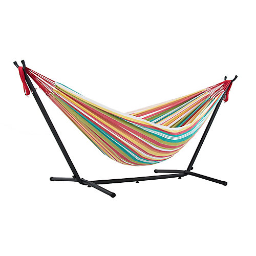 Double Salsa Hammock with Stand (9 ft. )