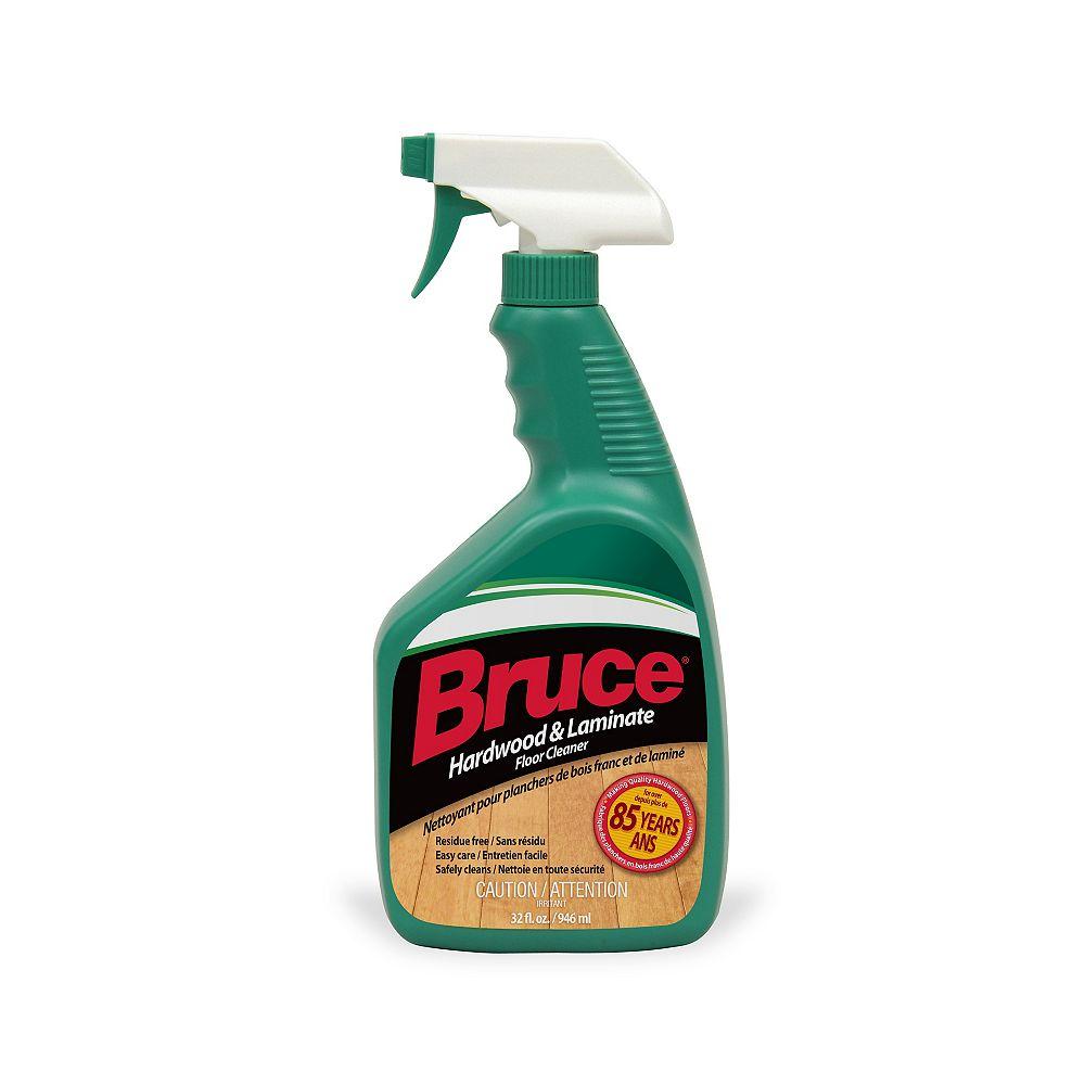 Bruce Hardwood and Laminate Floor Cleaner in Trigger Spray Bottle, 947 ml