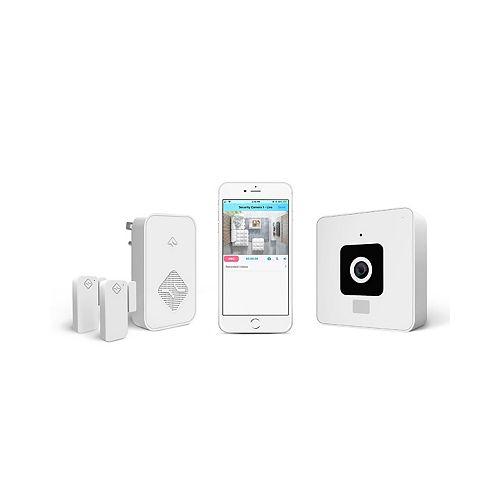 Secure: Caméra et système de sécurité sans fil de plafond pour toute la maison