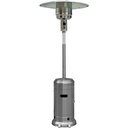 ZT-PH-120-SS-NG Natural Gas Patio Heater in Stainless Steel