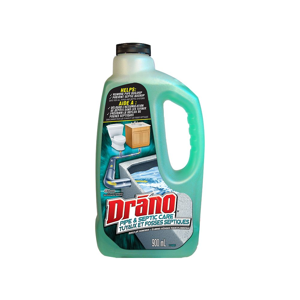 Drano Pipe & Septic Care Build-Up Remover