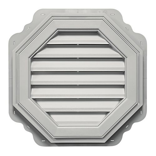 22 inch Gable Master  Octagon Vent Ryan White