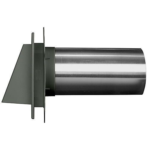 4 inch Hooded Dryer Vent 65 Evergreen