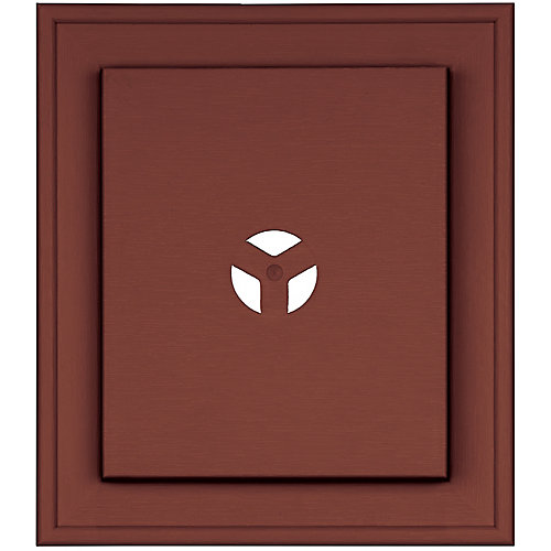 Mount Master Deluxe Plate Cabot Red/Burg