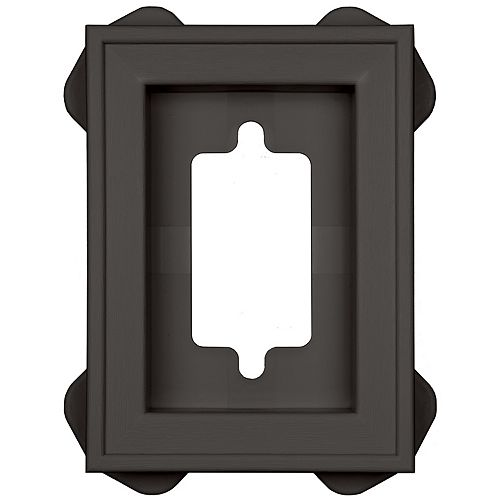 Mount Master Recessed Mini Manor/Tuxedo Gr