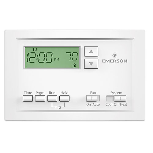 Programmable Single-Stage Thermostat with 5-1-1 Day Scheduling
