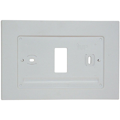 Wall Plate for Sensi Wi-Fi Thermostat in White