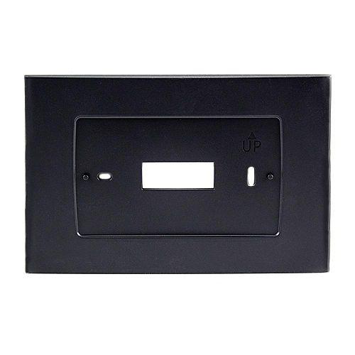 Plaque murale noire pour thermostat Wi-Fi Sensi Touch