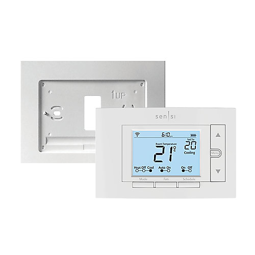 Sensi Smart Thermostat with Wall Plate Bundle
