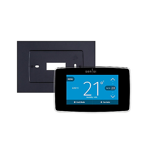 Sensi Touch Smart Thermostat with Wall Plate