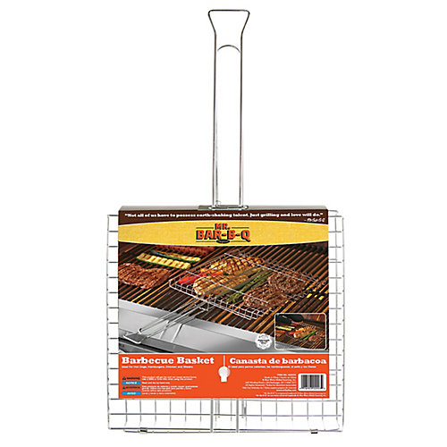 Chrome Grilling Basket
