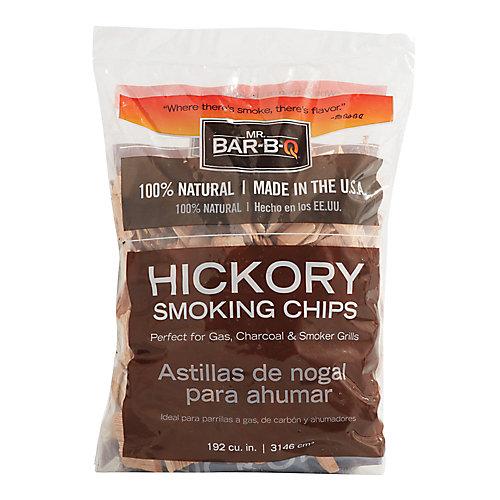 Copeaux de hickory à fumer