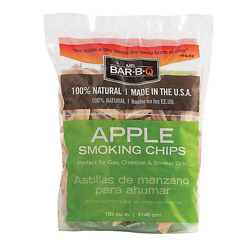 Copeaux de pommier à fumer