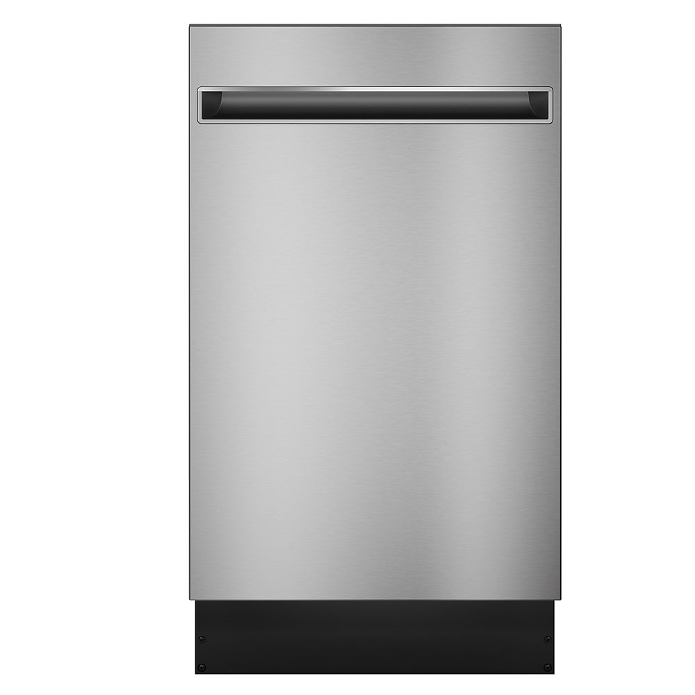 Haier 18-inch Top Control Tall Tub Built-in Dishwasher in Stainless Steel with Stainless Steel Tub