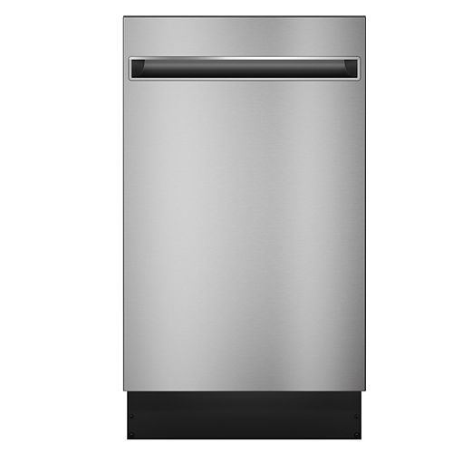 18-inch Top Control Tall Tub Built-in Dishwasher in Stainless Steel with Stainless Steel Tub