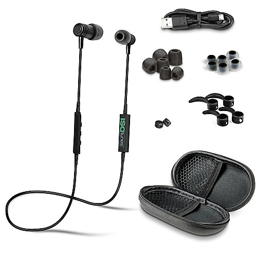 Bluetooth Noise-Isolating Earbuds