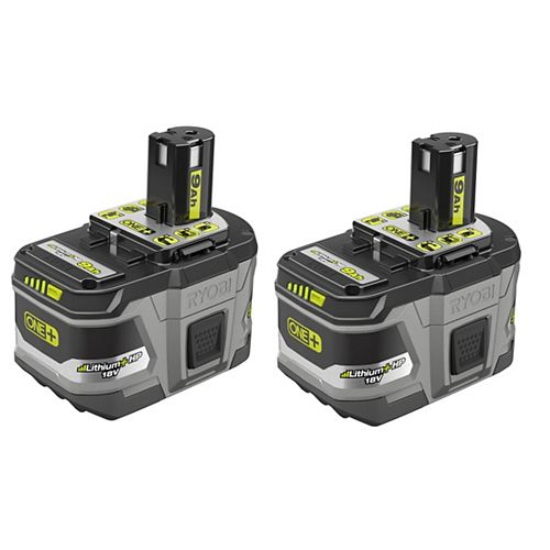 18V ONE+ Lithium-Ion LITHIUM+ HP 9.0 Ah High Capacity Battery (2-Pack)