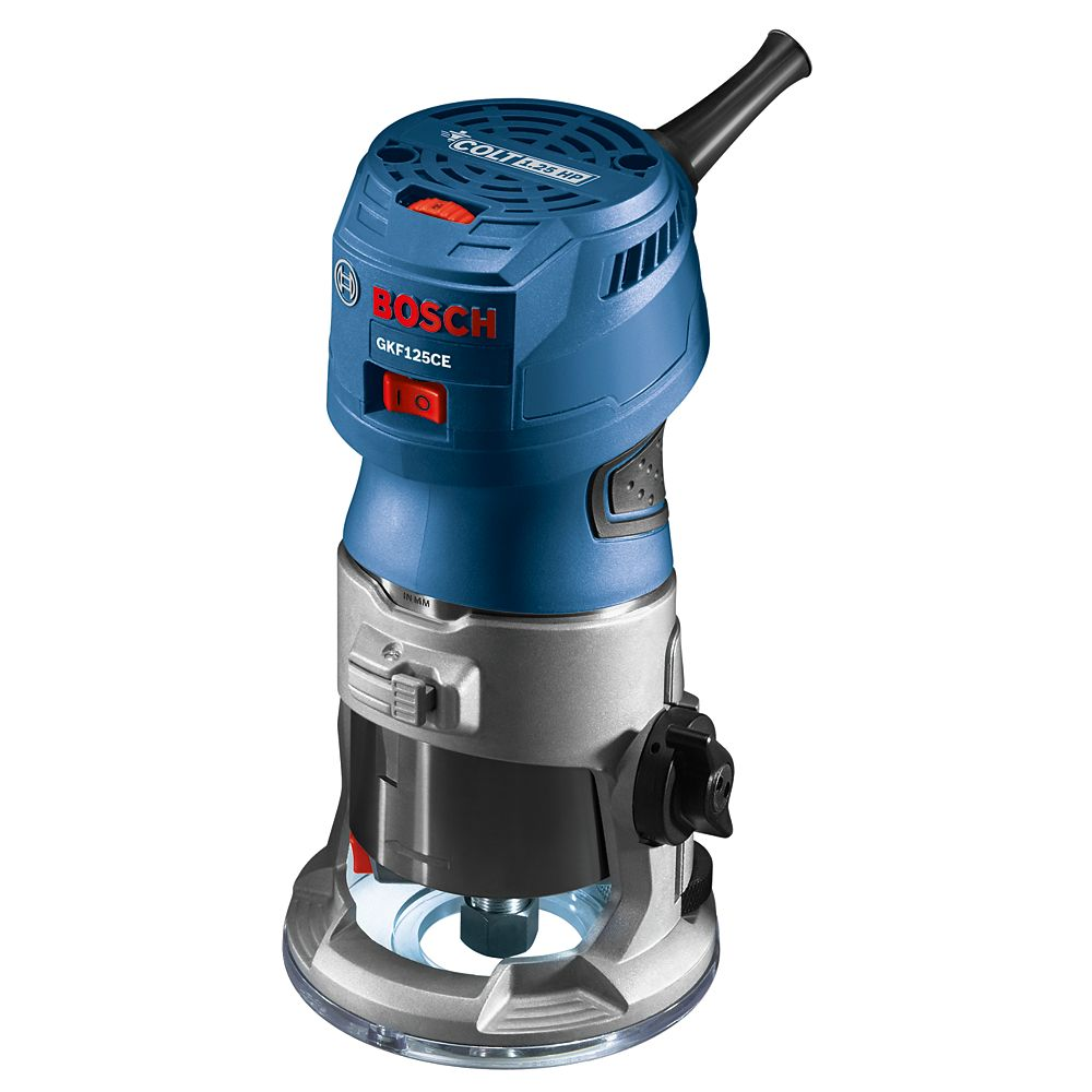 Bosch Colt 1.25 HP (Max) Variable-Speed Palm Router GKF125CEN